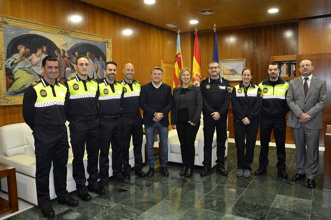 Seis agentes interinos se incorporan a la Policía Local