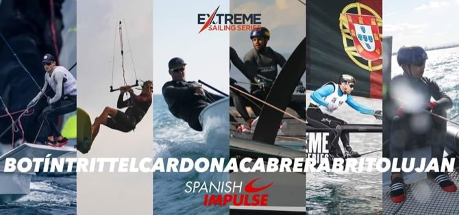 Quique Luján participa en las Extreme Sailing Series a bordo del Spanish Impulse
