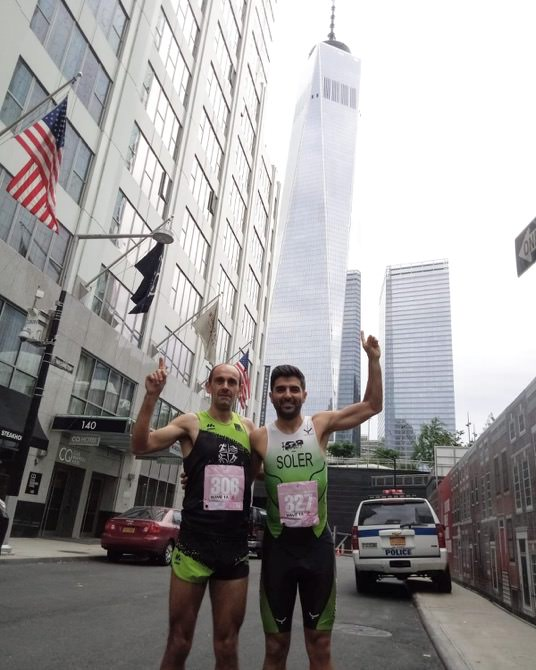 Toni Soler y Nasio Cardona triunfan en la subida al One World Trade Center de Nueva York