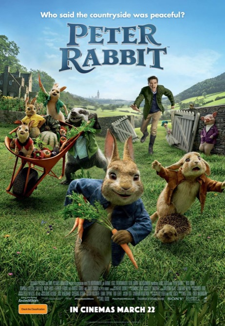 Cine Vora la Mar: 2 de julio: Peter Rabbit