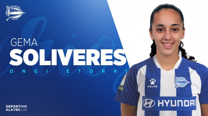 Gema Soliveres debuta con el Alaves Gloriosas